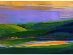 Allan Chow Landscapes Oil Paintings