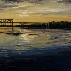Kristin Goering Brandon Jacobs Gallery Kansas City Bridge Acrylic Arrowhead Collection