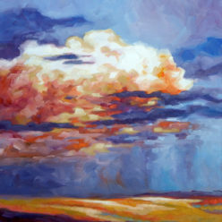 Carol McCall Brandonjacobs Gallery Oil Landscapes Flint hills