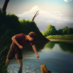 Brandon Jacobs Gallery Anthony Benton Gude Landscapes Oil Thomas Hart Benton Regionalist