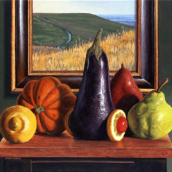 James Borger Landscape Still Life Acrylic Kansas City